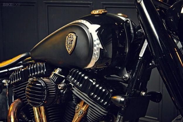 Hd Softail Slim By Rough Crafts Moto Custom Blog
