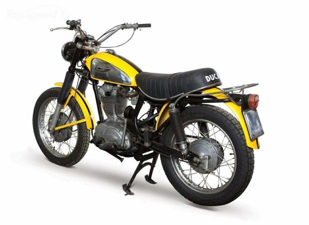 Ducati Scrambler Anni 70 Idea Di Immagine Del Motociclo