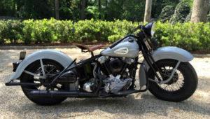 Harley Davidson KnuckleHead FL 1945