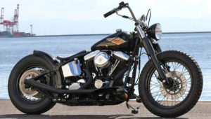 Bobber Softail by SHIUN CRAFT WORKS