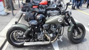 Harley Davidson FLH ShovelHead modified