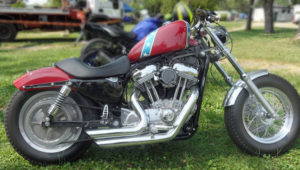 HD Sportster confederate flag