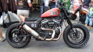 Sportster Scrambler by Harley Davidson Bundnerbike