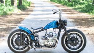 Bobber Blu Beaver by Hammerbike Customs