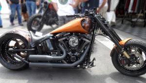Dragster by Harley Davidson Bundnerbike