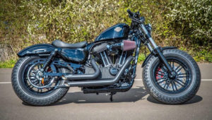 HD Sportster Forty Eight custom fat