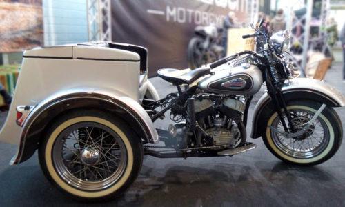 Harley Davidson Servi Car anni 30