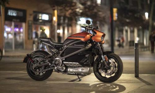 Harley Davidson LiveWire elettrica