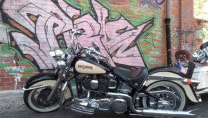 Harley Davidson Softail Heritage bobber