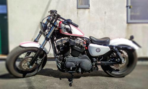 Harley Davidson Forty Eight bobber