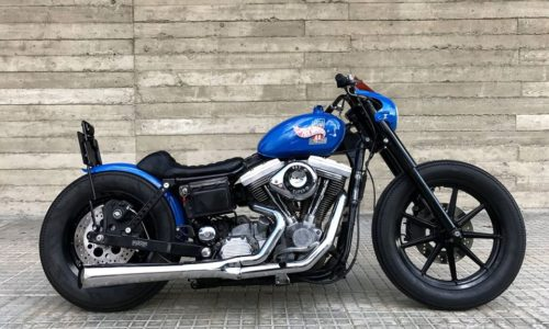 "DYNA FXD ""FUKC'rs MACHINE"" by FREE KUSTOM CYCLES"