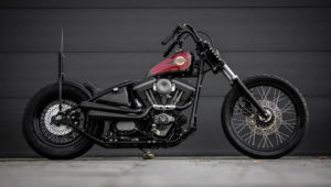 The Harvester un chopper old school by MB Cycles