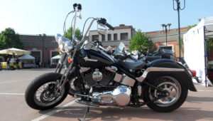 HD Softail Springer chicano style